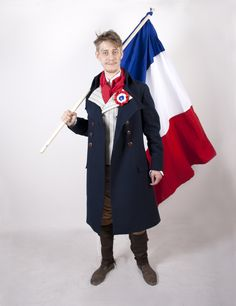 Male clothing french rebel ca 1790. By student Beatrice Krüger.