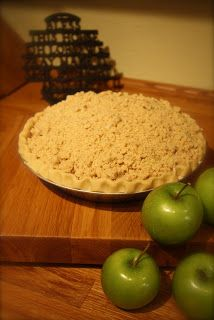 Life with Lucie & Ella: Make-Ahead Crumb Top Apple Pie