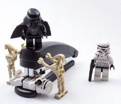 Lego Star Wars - angry Vader