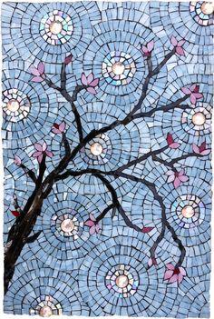 Cherry Blossoms Mosaic Full