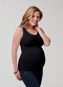 Ingrid and Isabel Maternity Ruched Tank