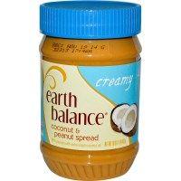 Earth Balance, Coconut & Peanut Spread, Creamy, 16 oz (453 g)