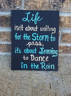 Dance in the Rain Painted Canvas by heartofacanvas on Etsy, $10.00