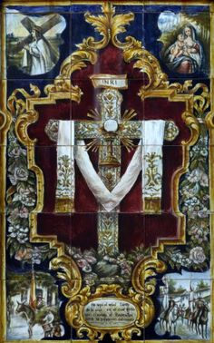 Here is the holy tree of the Cross on which the Redeemer wanted to be nailed to the world's salvation
