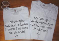 Kliknij w zdjęcie - przeniesie Cię do sklepu ♥  Zamówienia/pytania: neejsi@wp.pl  Zestaw+dla+par+-+Kocham+tylko...+w+Neejsi+na+DaWanda.com