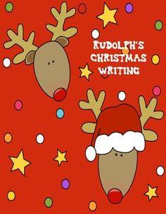 Rudolph's Christmas Writing Freebie