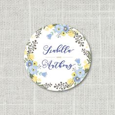 Save the date floral stickers for wedding day bride shower 120pcs//set