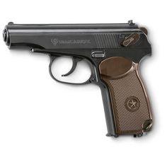 Umarex™ PM Makarov Air Pistol, Black / Brown - http://airgunsforsaleusa.com/umarex-pm-makarov-air-pistol-black-brown/ #Airgun #Airguns #Pistol #Pistols