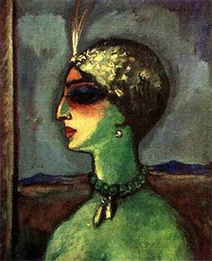 Princess of Babylon by Kees Van Dongen You can see her in Tel Aviv Museum of Art