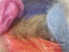 Tutorial: Getting creative with Angelina Fiber - http://www.linda-matthews.com/getting-creative-with-angelina-fiber/
