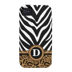 Zebra and Leopard Print