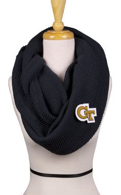 "Georgia Tech Navy ""GT"" Scarf - NEED IT NOW"