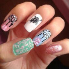 Hermosos Atrapa Sueos Esmalte T Nails Nail Art And