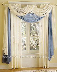 1000 Ideas About Window Scarf On Pinterest Sheer Curtain Panels Window Treatment Ideas