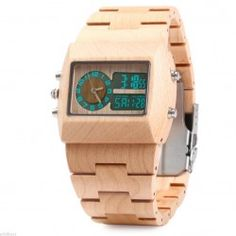 Cheap watch, Buy Quality watch bentley directly from China men brand watch Suppliers: BEWELL Bamboo Wooden Wrist Watch Men Quartz Watch with Dual Time Zones Luminous Waterproof Wristwatch reloj hombre 2016 Table Watch, Wooden Man, Thing 1, Wooden Watch, Watch Case, Digital Watch, Luxury Branding, Watches For Men, Wrist Watches