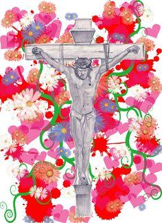 #jesus #cross #예수 #십자가 #일러스트 #포토샵 #illustration #illust #photoshop #윤용식 #예수그리스도 #기독교