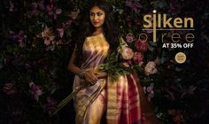 An epitome of grace, poise, beauty and grandiose, Indian silk sarees have ruled the world of fashion convention since long. August and eminent, these silk sarees are crafted with much care in illustrious colors that are bold and eye catchy.
