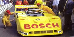 Willi Kauhsen's Bosch sponsored Porsche 917/10 at the Rheinland-Pfalz Preis 1972, not yet with the typical front hood of the CanAm 917s