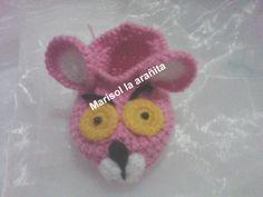 Zapatito pantera rosa