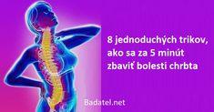 Bolí vás chrbát? Musíte užívať lieky od bolesti? Naučte sa tieto triky, ktoré vám pomôžu uľaviť od bolesti chrbta už za 5 minút. Bolesti Chrbta, Movies, Movie Posters, Films, Film Poster, Cinema, Movie, Film, Movie Quotes