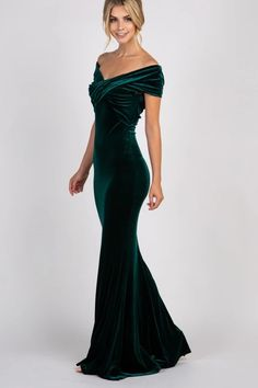Evening Gowns Formal Dresses for Women Empire Petite Formal Dresses Velvet Evening Gown, Green Evening Gowns, Evening Dresses, Velvet Gown, Afternoon Dresses, Flapper Dresses, Petite Formal Dresses, Formal Dresses For Women, Pretty Dresses