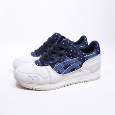 The Navy Rolled In: @ASICS Gel-Lyte III #Japanese Textile #Indian Ink #Sneakers | #SHOEOGRAPHY