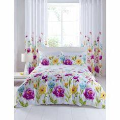 Buy Catherine Lansfield Floral Bloom Duvet Cover Set - Double at Argos.co.uk - Your Online Shop for Duvet cover sets.