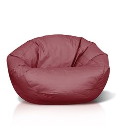 Take a look at this Burgundy Classic Bean Bag Chair today!