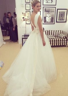 Caroline Herrera wedding dress