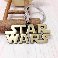 Star Wars Logo Alloy Keychains Star Wars merchandise http://funstarwars.com/shop/star-wars-jewelry/star-wars-logo-alloy-keychains/ 10.35 Main Material:Alloy Length:About 45CM