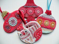 Christmas Decoration Tutorial All four christmas ornaments