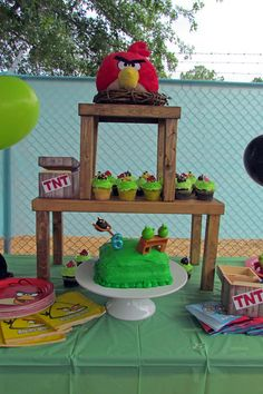 Angry Birds Birthday Party Ideas @Misty Schroeder Schroeder Schroeder Schroeder Hummel