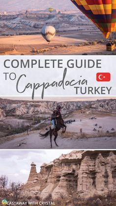 Things to do in Cappadocia, Turkey | Looking for things to do in Cappadocia? Check out this complete guide featuring all adventurous activities, best hiking trails and how to get a balloon ride for cheap! #Cappadocia #HotAirBalloons #Goreme  via @CastawayCrystal