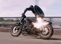 Captain America Harley Davidson Street 750