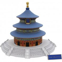 Download Temple of Heaven, China Papercraft Model