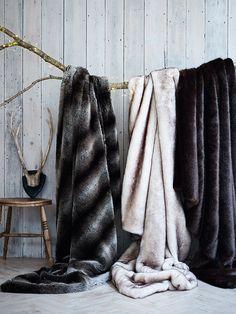 lekker warm en superzacht, gemaakt van imitatiebont - luxurious supersoft faux fur throws