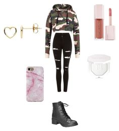 """Untitled #60"" by crbjdb on Polyvore featuring Topshop, Avenue, Estella Bartlett and Puma"