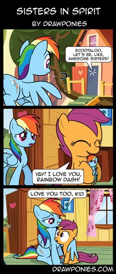 Comic: Sisters in Spirit by drawponies.deviantart.com on @deviantART