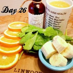 One more chance to have one of my favorite recipes from the week! I chose Dreamsicle. I picked up some beautiful seasonal oranges at the farmers market, and I just have to use them! Dreamsicle - Serves 2 2 cups spinach, fresh 1 cup orange juice 1 cup water 2 oranges 2 bananas 1 teaspoon vanilla extract What's your favorite recipe from this past week? COMMENT below! #Padgram