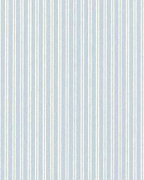 Tapet Sommarrand Ljusblå/Vit från Lim & Handtryck