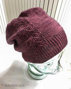 Lehdykkä-pipo – Lankakauppa Koukuttamo Knitting Charts, Knitting Stitches, Crochet Chart, Knit Crochet, Small Knitting Projects, Knitting Ideas, Knitting Magazine, Crafts To Do, Beanie Hats