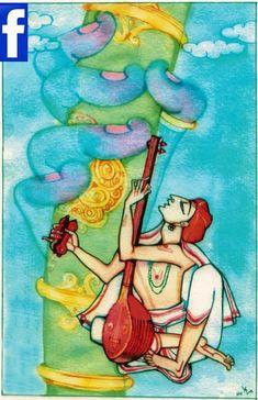 Krishna Painting, Krishna Art, Art Beat, Art Village, Lord Krishna Images, Art Folder, Indian Folk Art, India Art, Indian Art Paintings