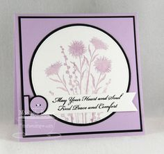 May You Find Peace and Comfort MFT LJD Peaceful Wild Flowers, Clearly Sentimental about Sympathy Paper: MFT Grapesicle, Black Licorice, Smooth White Ink: MFT Grapesicle, Black Licorice Accessories: MFT Circle STAX, Pierced Circle STAX, Fishtail Flags STAX and Blueprints 6   Read more: http://www.splitcoaststampers.com/gallery/photo/2409584#ixzz2bZLrJMc2