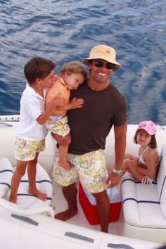 Kelly Ripa Wishes Mark Consuelos a Happy Birthday With Intimate Family Photos Celebrity Children, Mark Consuelos, Kelly Ripa, General Hospital, My Children, Couple Goals, Family Photos, Famous People, Toddlers
