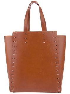 Love the stitching. Paco Rabanne - Panelled shopper bag 1