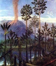 "Carboniferous Illustration by Zdenek Burian, 1967 ""Life Before Man,"" 1995"