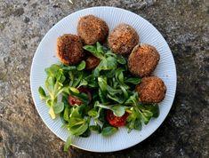 Boulettes végétariennes de lentilles vertes Raw Food Recipes, Healthy Recipes, Paleo, Keto, Buddha Bowl, Easy Meals, Nutrition, Gluten Free, Vegetarian