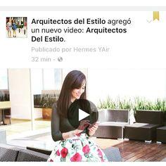#ArquitectosDelEstilo. Síguenos !!