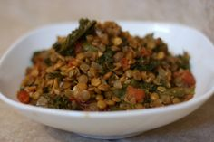 A Year of Slow Cooking: Lentil and Kale Super Food Slow Cooker Recipe