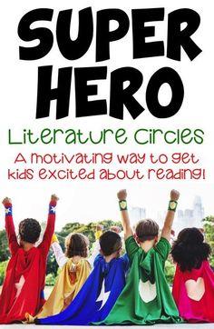 Super Hero Literatur